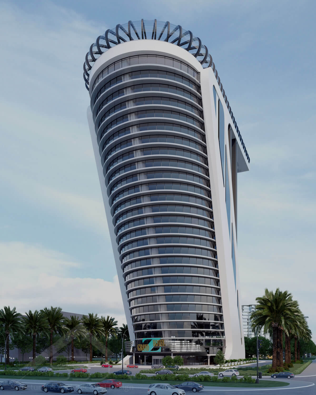 Z Tower in Dubai - tower design