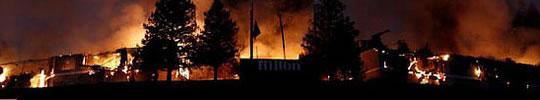 burned-home-in-california-US