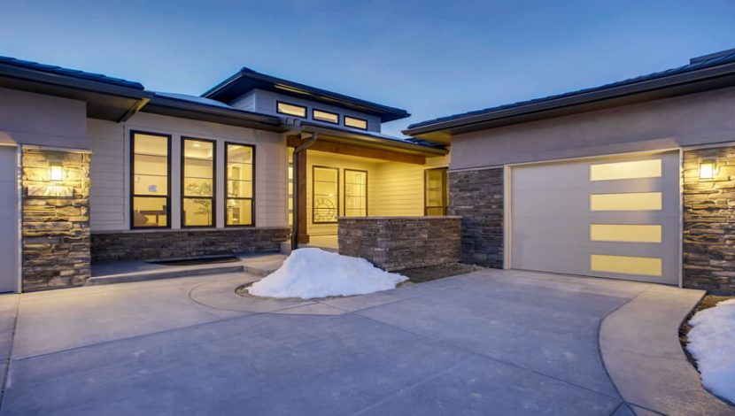 New home construction methods - structural and architectural design