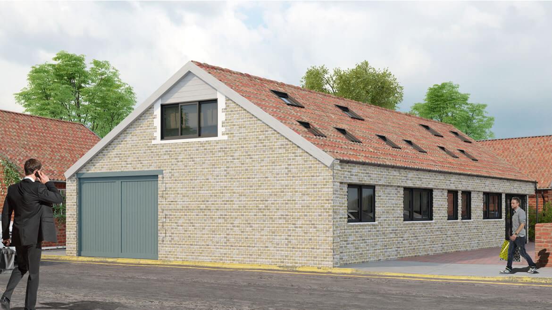 3d Exterior rendering in the UK