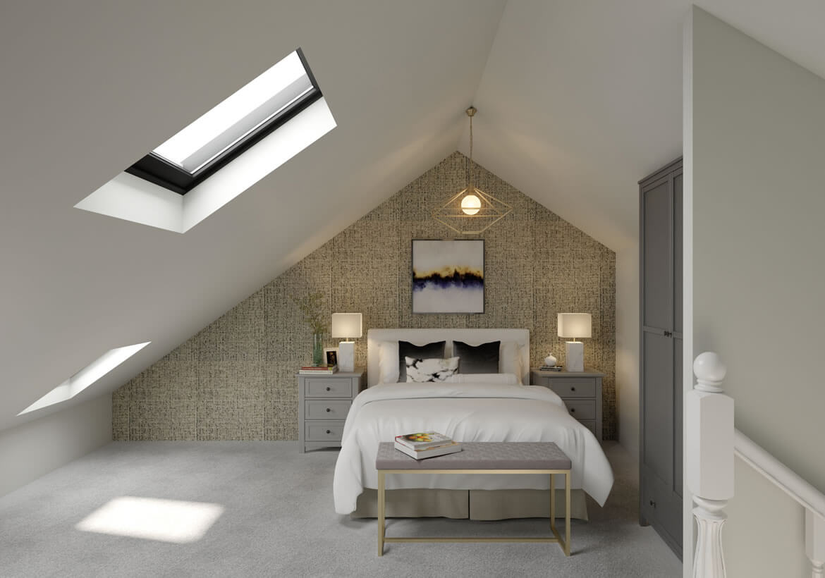 3d interior rendering in the UK