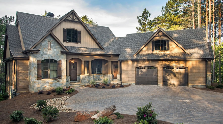 Architectural style - Craftsman Style house CA-US