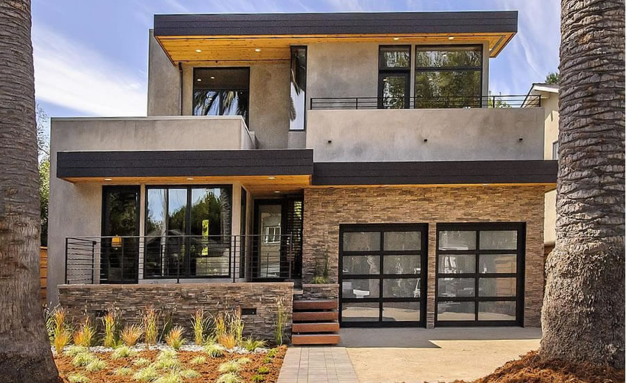 Architectural style - modern-prefab Style house