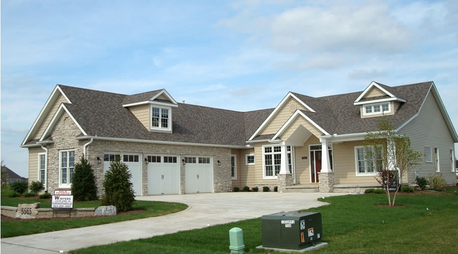 Architectural style - ranch rambler Style