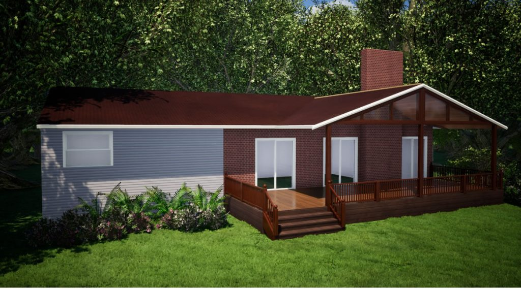 front porch design Portsmouth, New Hampshire