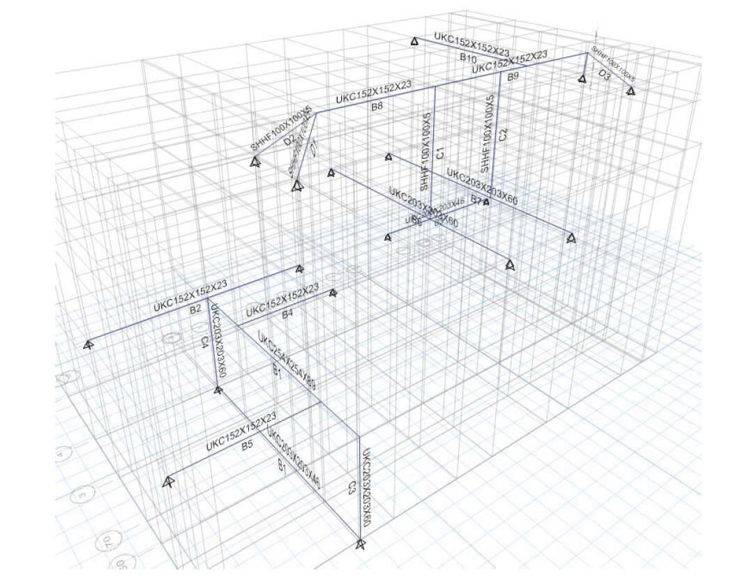 3D FRAME - Loft conversion