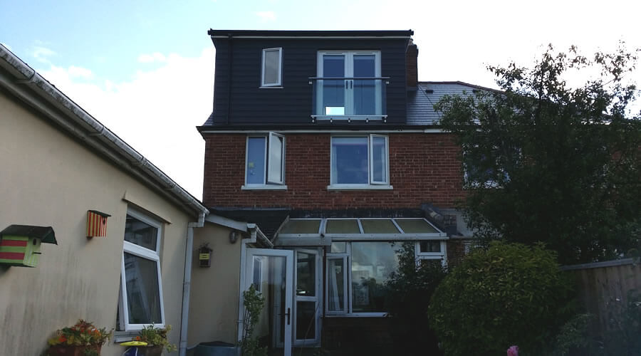 A Juliet Balcony and Dormer Loft Conversion in the UK