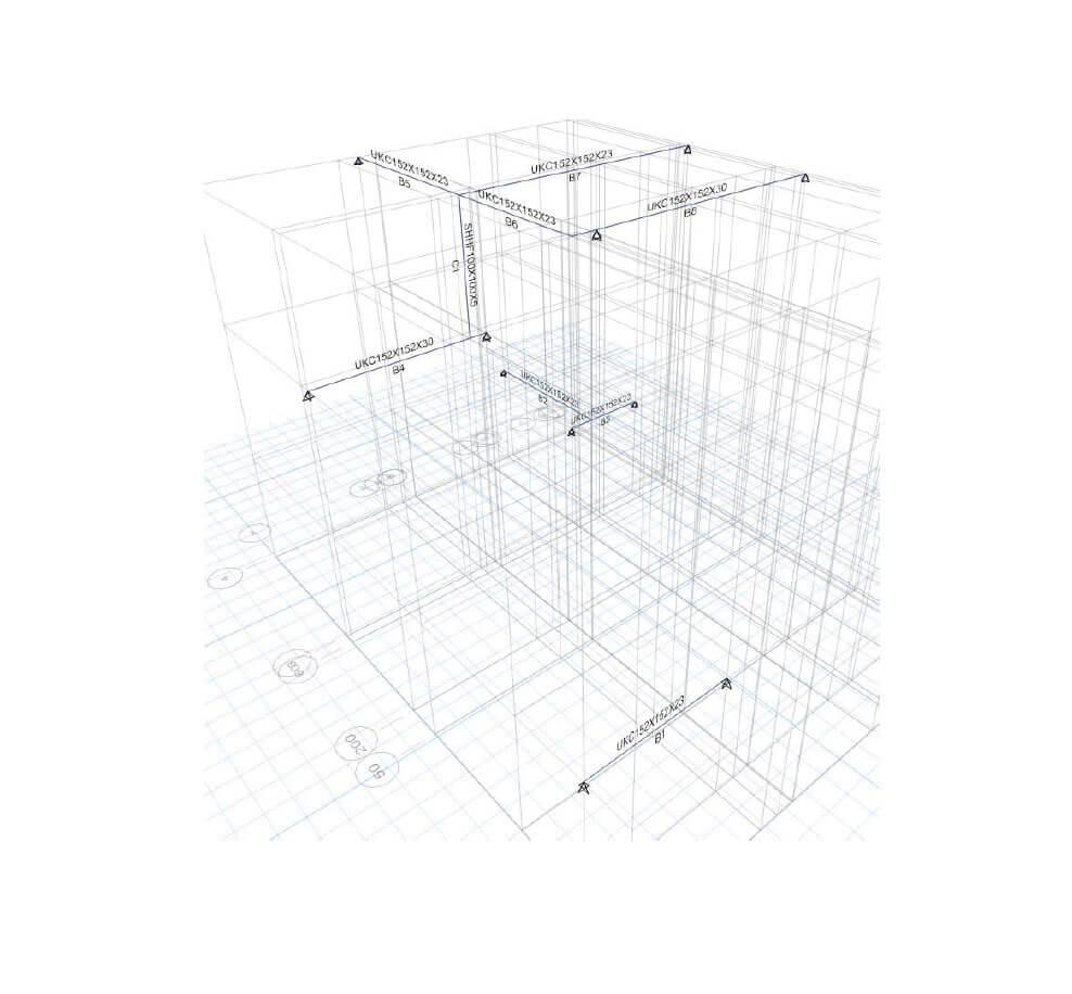 Calculation report of a loft project
