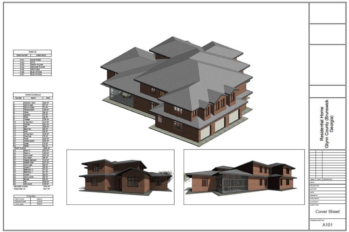 Custom house design in Florida