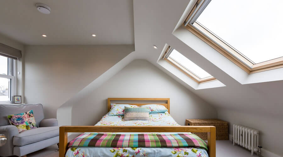 Dormer Loft Conversion Supports the Installation of a Skylight