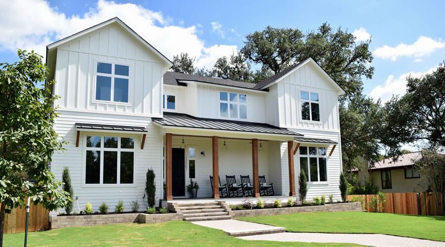 American modern farmhouse style