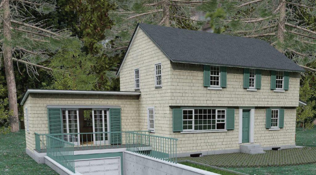 Basement Conversion California. Residential design services. Architecture