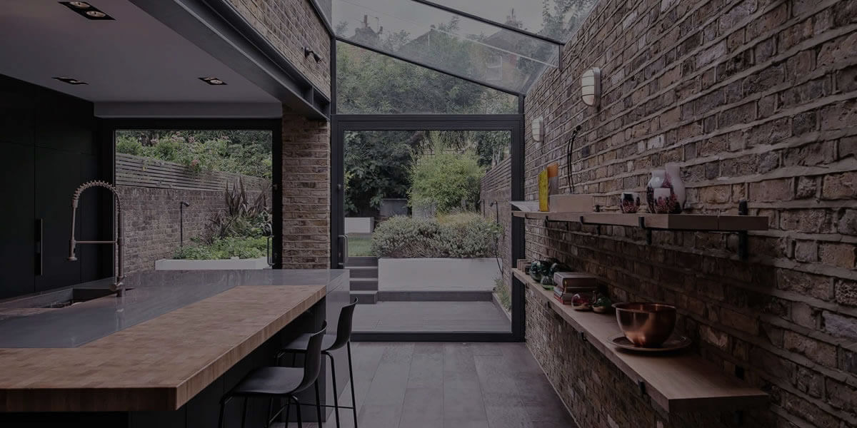 House extension project in the UK