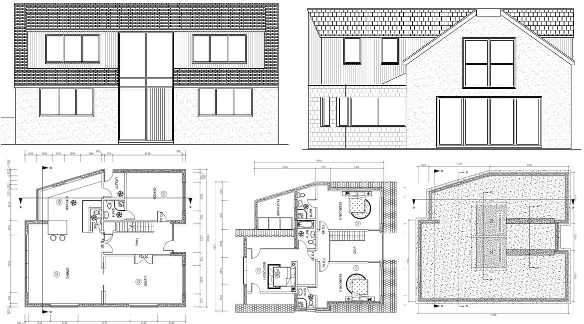 New building design Murray Road - Residential structural engineer London