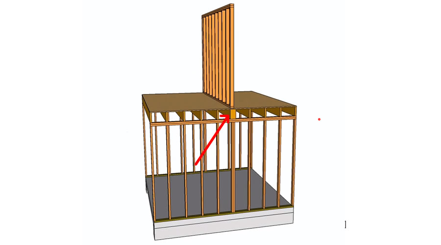 building regulation - load bearing wall