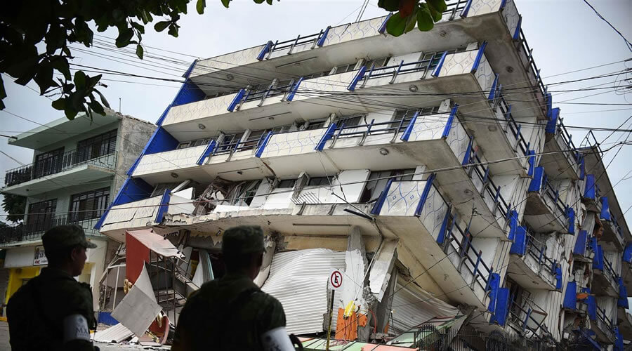 buildings collapse during earthquakes