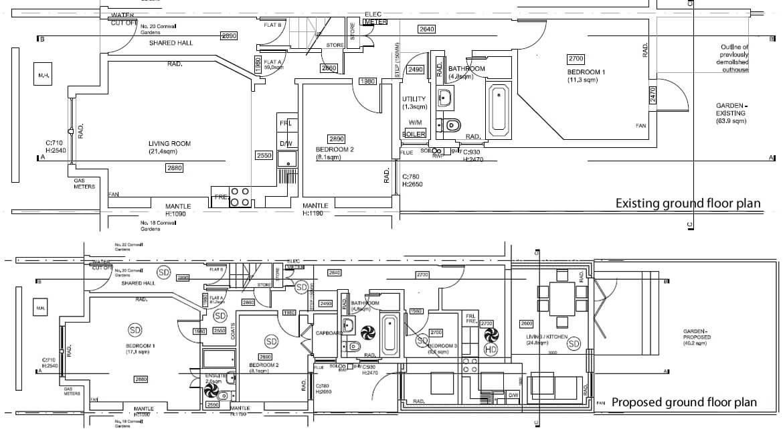 house extension design