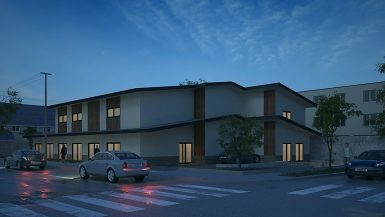 3 story congregate living health facility building - Structural engineering