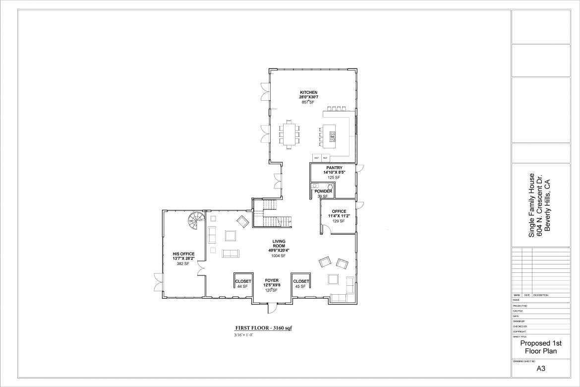 Country House Plans-FIRST FLOOR