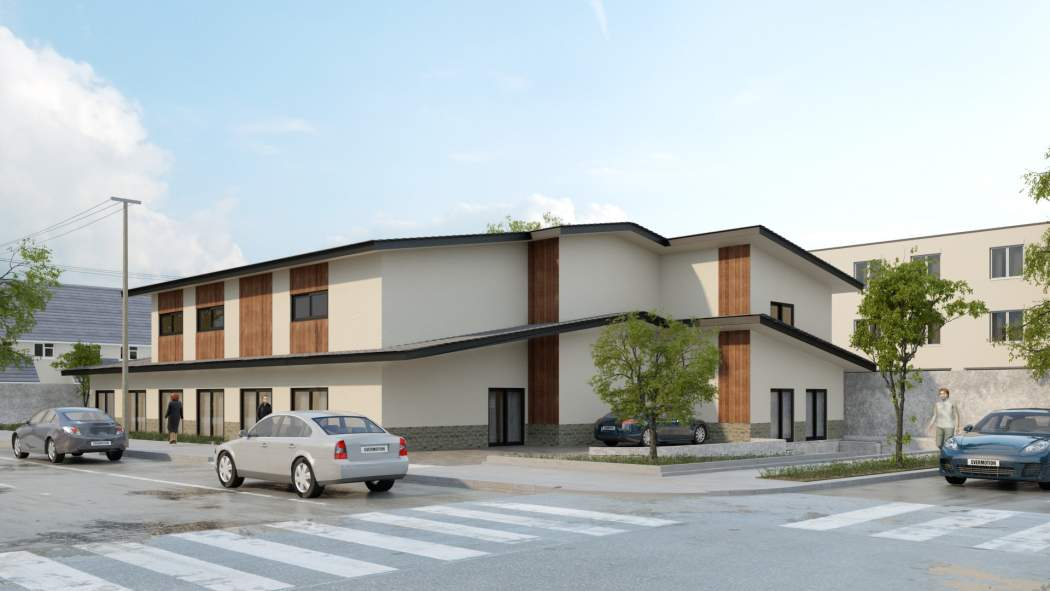 Structural design for a new 3 story congregate living health facility building 1