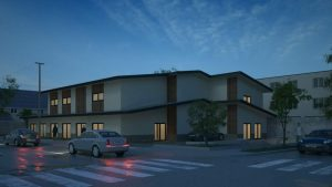 Structural design for a new 3 story congregate living health facility building 4