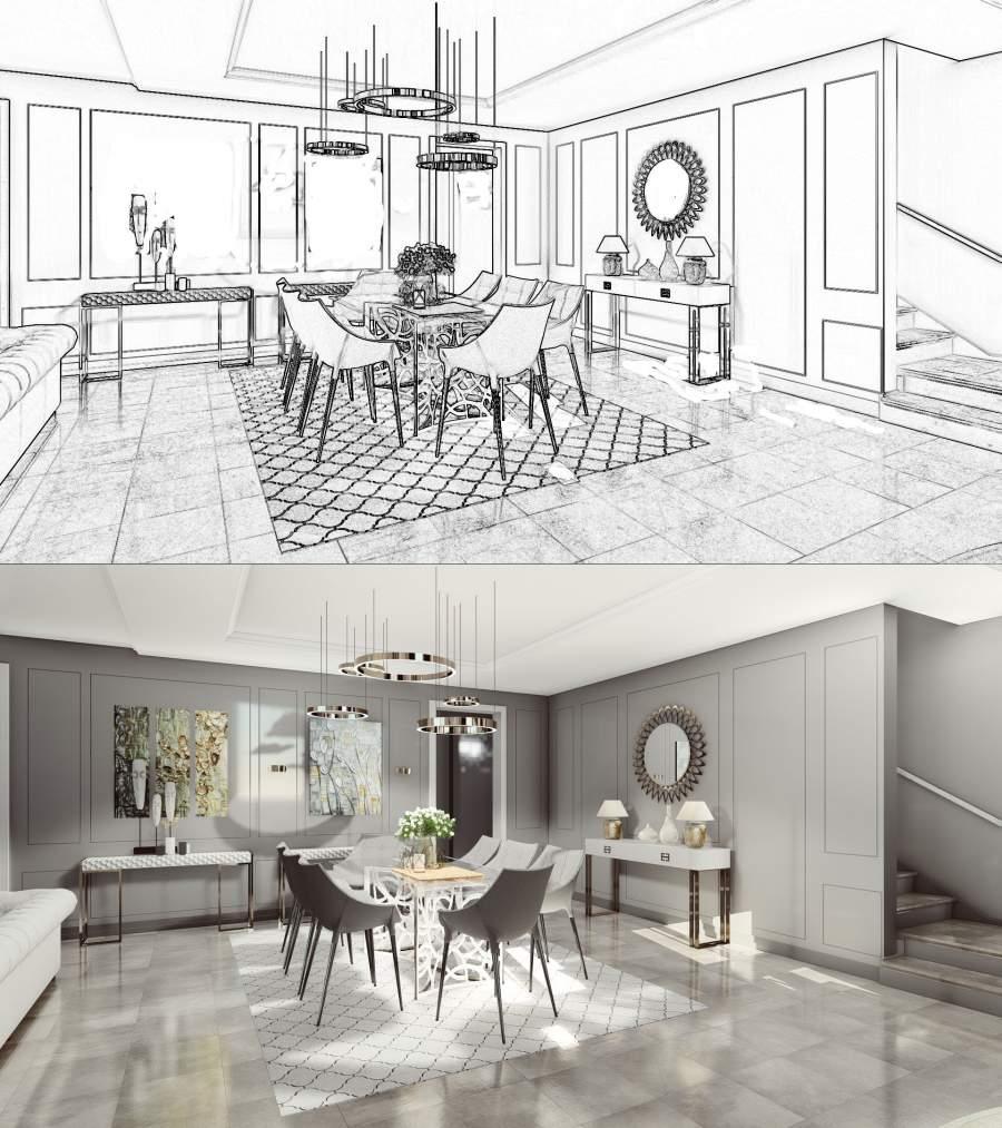 How Can 3D Rendering Revolutionize Interior Design