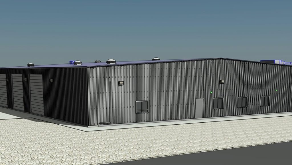 Fresno Metal garage shop MEP design services
