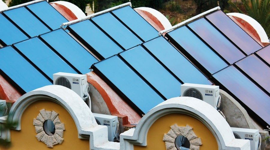 Renewable Hot Water Systems: Solar Collectors and Heat Pumps