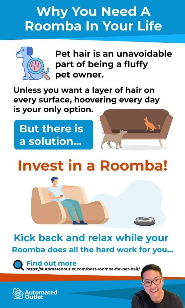 Roomba To Take Care Of Pet Hair
