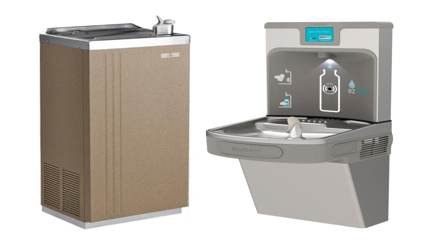 Protect our Planet and Your Back Pocket with a Plumbed in Water Cooler