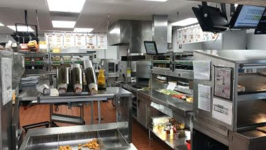 Restaurant remodeling, Lakeside – interior and exterior