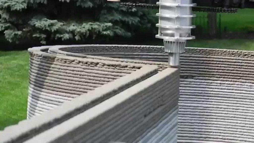 3D Printed Concrete