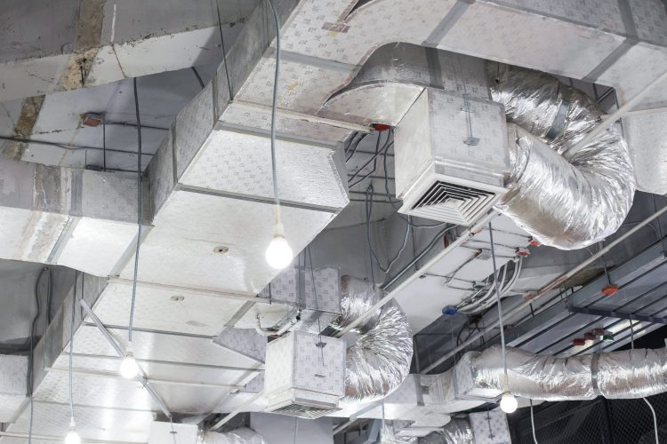 Ventilation and Air Conditioning in the Context of COVID-19