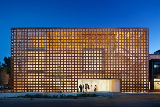 entrant of the 2014 Wood Design Awards