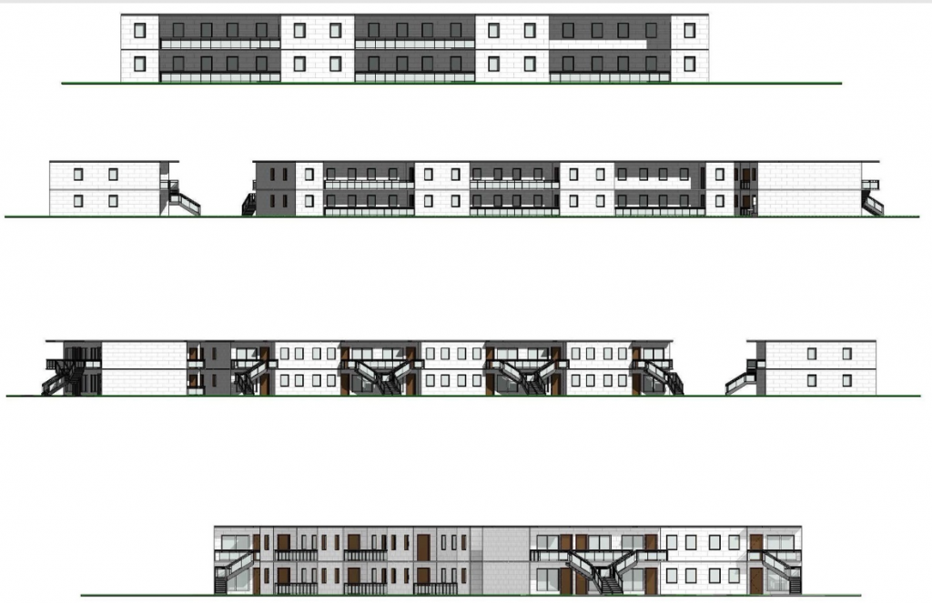 Multi-Family Housing in Sacramento, CA Architectural, Structural, Civil, Landscape and MEP Design