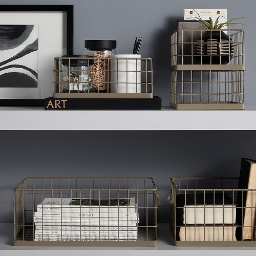 Storage Systems – the Most Popular Wire Baskets for Your Home