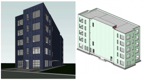 Structural and MEP design for 225 E EDSEL, Detroit, MI 48202