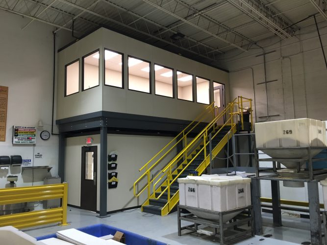 Mezzanine Floors and Their Benefits in Buildings