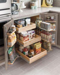 Creative Kitchen Space Optimization