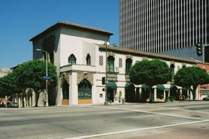 Spanish Churrigueresque style in Los Angeles