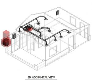 Permit Set Design for converting a garage to an ADU